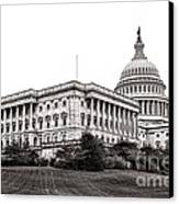 United States Capitol Senate Wing Canvas Print by Olivier Le Queinec