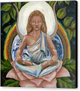 Universal Goddess Canvas Print by Samantha Geernaert