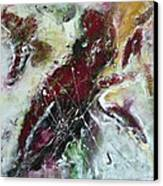 Universe- Abstract Art Canvas Print by Ismeta Gruenwald