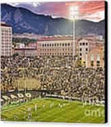University Of Colorado Boulder Go Buffs Canvas Print by James BO  Insogna
