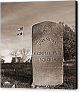Unknown Soldier Canvas Print by Steven  Michael