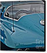 Unmistakeable Tail 65 Corvette Stingray Canvas Print by JW Hanley