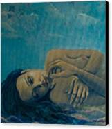 Until Forever Canvas Print by Dorina  Costras