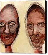 Untitled Two Canvas Print by Anna Skaradzinska
