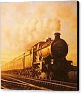 Up Express To Paddington Canvas Print by Mike  Jeffries