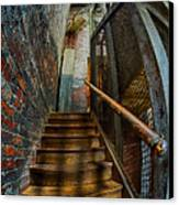 Up To Something Good Canvas Print by Susan Candelario
