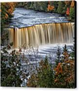 Upper Tahquamenon Falls  Canvas Print by Todd Bielby