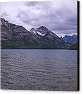 Upper Waterton Lake Canvas Print by Chad Dutson