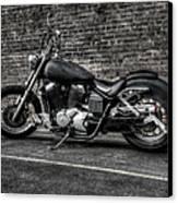Urban Bike 001 Canvas Print by Lance Vaughn