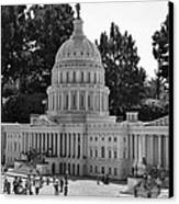 Us Capitol Canvas Print by Ricky Barnard