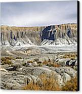 Utah Outback 43 Panoramic Canvas Print by Mike McGlothlen