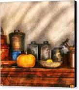 Utensils - Kitchen Still Life Canvas Print by Mike Savad