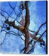 Utility Pole Canvas Print by Ayse Deniz