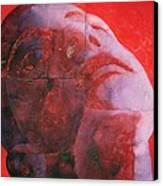 Uv Head Canvas Print by Graham Dean