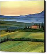 Val D Canvas Print by Cecilia Brendel