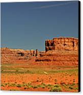 Valley Of The Gods - See What The Gods See Canvas Print by Christine Till