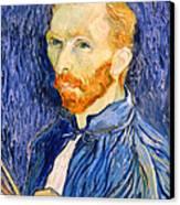 Van Gogh On Van Gogh Canvas Print by Cora Wandel
