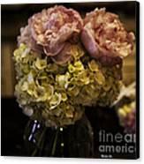 Vase Of Flowers Canvas Print by Madeline Ellis