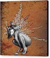 Venetian Fairy Canvas Print by Kd Neeley