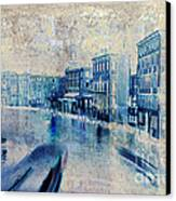 Venice Canal Grande Canvas Print by Frank Tschakert