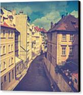 Venice In Prague Canvas Print by Taylan Soyturk