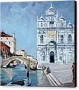 Venice - Scuola Di San Marco Canvas Print by Irek Szelag