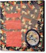 Vernal Equinox Hare Canvas Print by Ellen Miffitt