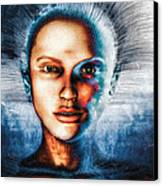 Very Social Network Canvas Print by Bob Orsillo