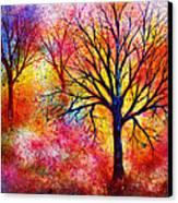 Vibrant Canvas Print by Ann Marie Bone