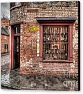 Victorian Corner Shop Canvas Print by Adrian Evans