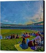 Victory Field Oil Canvas Print by David Haskett