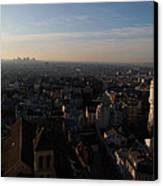View From Basilica Of The Sacred Heart Of Paris - Sacre Coeur - Paris France - 011319 Canvas Print by DC Photographer