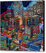 View From Hemisphere Canvas Print by Patti Schermerhorn