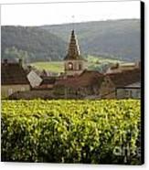 Village Of Monthelie. Burgundy. France Canvas Print by Bernard Jaubert