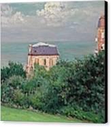 Villas At Villers-sur-mer Canvas Print by Gustave Caillebotte