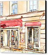 Vilnius Windows 3 Canvas Print by Yury Malkov
