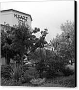 Vineyard Creek Hyatt Hotel Santa Rosa California 5d25795 Bw Canvas Print by Wingsdomain Art and Photography