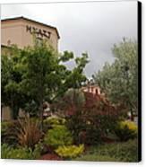 Vineyard Creek Hyatt Hotel Santa Rosa California 5d25795 Canvas Print by Wingsdomain Art and Photography