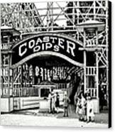 Vintage Coaster Canvas Print by Benjamin Yeager