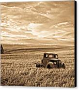Vintage Days Gone By Canvas Print by Steve McKinzie