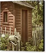 Vintage Garden Canvas Print by Margie Hurwich