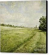 Vintage Landscape Canvas Print by Jelena Jovanovic
