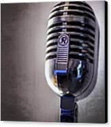 Vintage Microphone 2 Canvas Print by Scott Norris