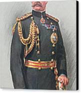 Viscount Kitchener Of Khartoum Canvas Print by Walter Wallor Caffyn