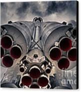 Vostok Rocket Engine Canvas Print by Stelios Kleanthous