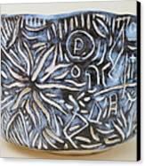 Wabi-sabi Bowl Canvas Print by Janpen Sherwood