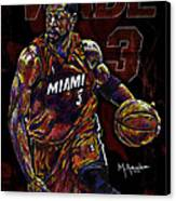 Wade Canvas Print by Maria Arango