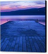 Waiting For The Dawn Canvas Print by Steven Ainsworth