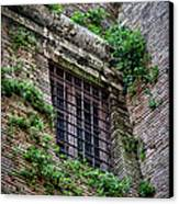 Waiting In Line For The Dome Canvas Print by Joan Carroll