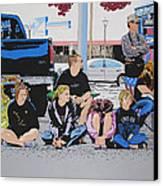 Waiting Canvas Print by Lance Bifoss